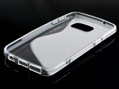 Wave Case for Samsung Galaxy S7  - Frosted Clear/Clear