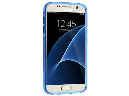 Wave Case for Samsung Galaxy S7 - Frosted Blue/Blue