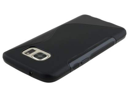 Wave Case for Samsung Galaxy S7  - Frosted Black/Black