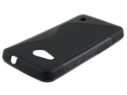 Wave Case for Microsoft Lumia 550 - Frosted Black/Black