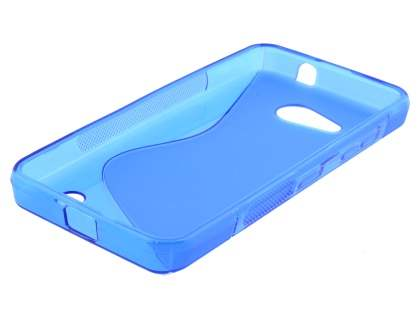 Wave Case for Microsoft Lumia 550 - Frosted Blue/Blue