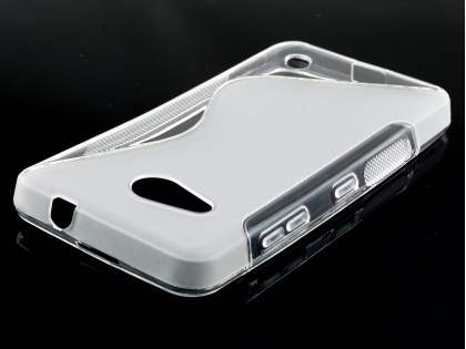 Wave Case for Microsoft Lumia 550 - Frosted Clear/Clear
