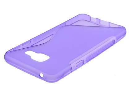 Wave Case for Samsung Galaxy A3 (2016) - Frosted Purple/Purple Soft Cover