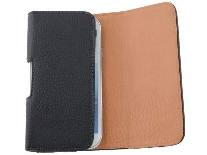 Textured Synthetic Leather Belt Pouch for Microsoft Lumia 950