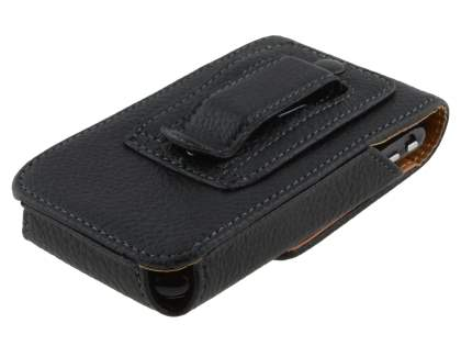 Textured Synthetic Leather Vertical Belt Pouch for Samsung Galaxy Ace 3