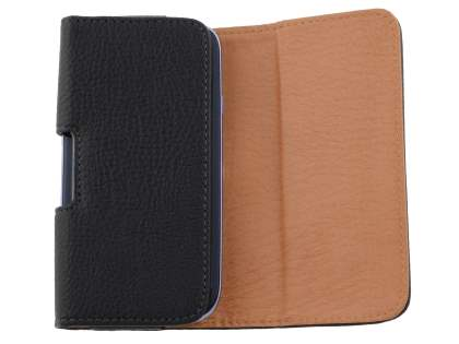 Textured Synthetic Leather Belt Pouch (Bumper Case Compatible) for Samsung Galaxy Express i8730