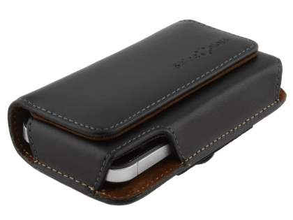 Extra-tough Genuine Leather ShineColours belt pouch for Samsung Galaxy Ace 3