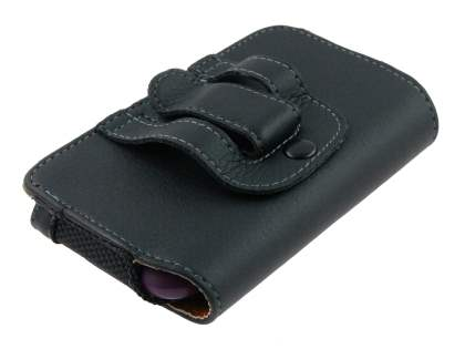 Samsung Galaxy Ace 3 Synthetic Leather Belt Pouch - Classic Black