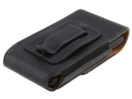 Textured Synthetic Leather Vertical Belt Pouch for Samsung Galaxy S4 mini