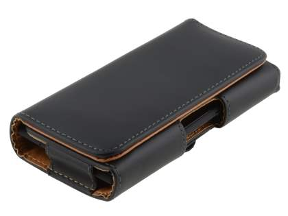 Smooth Synthetic Leather Belt Pouch for Sony Xperia E4g