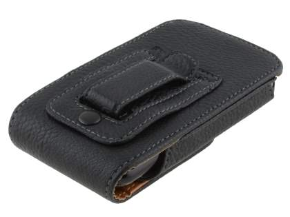 Textured Synthetic Leather Vertical Belt Pouch for HTC One mini