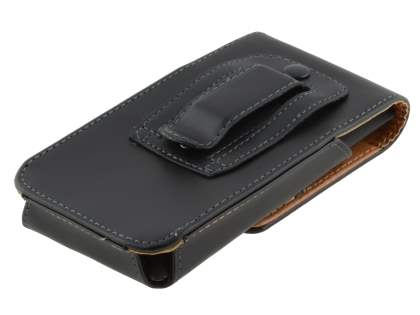 Smooth Synthetic Leather Vertical Belt Pouch for HTC Desire 300