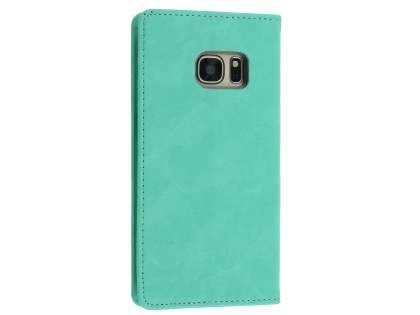 Mercury Blue Moon Wallet Case for Samsung Galaxy S7 - Mint