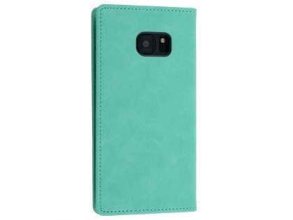 Mercury Blue Moon Wallet Case for Samsung Galaxy S7 edge - Mint
