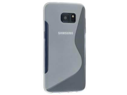 Wave Case for Samsung Galaxy S7 edge - Frosted Clear/Clear Soft Cover