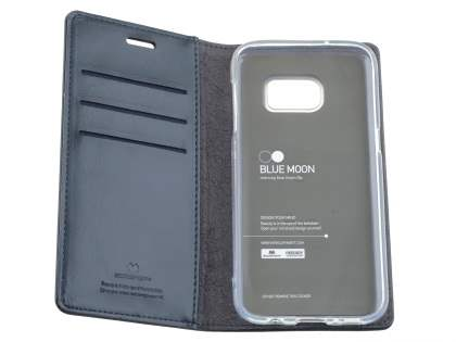 Mercury Blue Moon Wallet Case for Samsung Galaxy S7 - Navy
