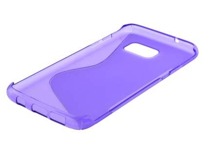Wave Case for Samsung Galaxy S7 edge - Frosted Purple/Purple