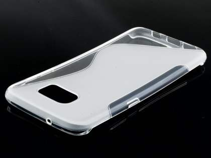Wave Case for Samsung Galaxy S7 edge - Frosted Clear/Clear
