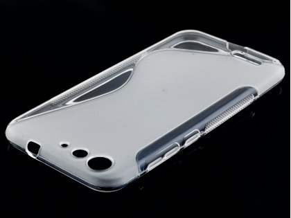Wave Case for ZTE Blade V6 - Frosted Clear/Clear Soft Cover