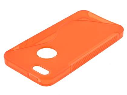 iPhone SE/5s/5 Wave Case - Frosted Orange/Orange