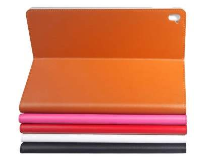 Premium Genuine Leather Portfolio Case with Stand for iPad Pro 9.7 - Red