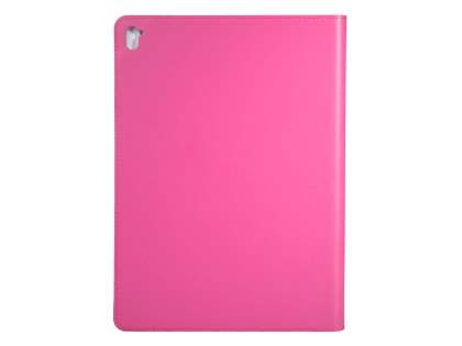 Premium Genuine Leather Portfolio Case with Stand for iPad Pro 9.7 - Pink