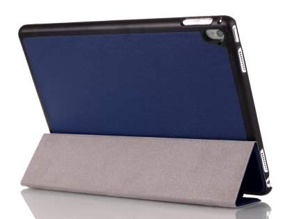 Premium Slim Synthetic Leather Flip Case with Stand for iPad Pro 9.7 - Dark Blue