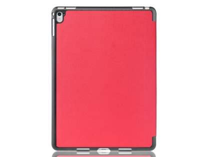 Premium Slim Synthetic Leather Flip Case with Stand for iPad Pro 9.7 - Red