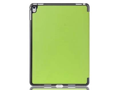 Premium Slim Synthetic Leather Flip Case with Stand for iPad Pro 9.7 - Green