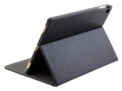 Synthetic Leather Case with Stand for iPad Pro 9.7 - Classic Black