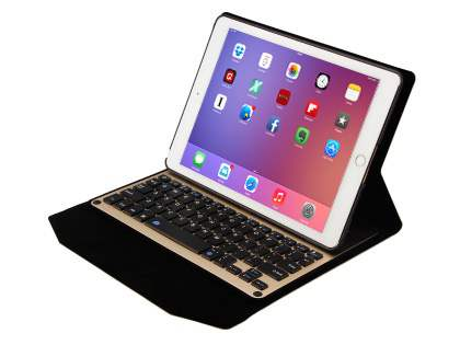 Smart Bluetooth Keyboard Case for iPad Air 2 - Gold