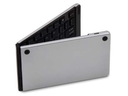Foldable Bluetooth Mini Keyboard - Silver  Keyboard