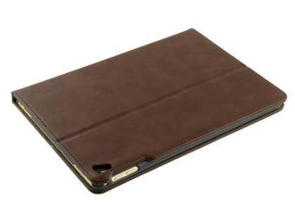 Synthetic Leather Case with Stand for iPad Pro 9.7 - Brown