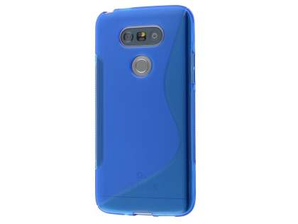 Wave Case for LG G5 - Frosted Blue/Blue Soft Cover