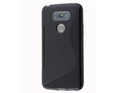 Wave Case for LG G5 - Frosted Black/Black Soft Cover