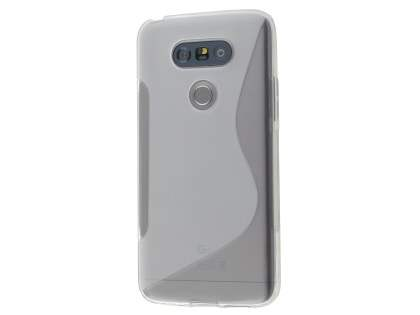 Wave Case for LG G5 - Frosted Clear/Clear Soft Cover