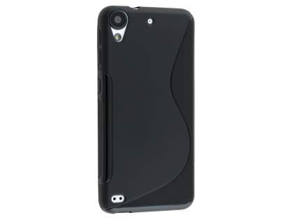 Wave Case for HTC Desire 530 - Frosted Black/Black Soft Cover