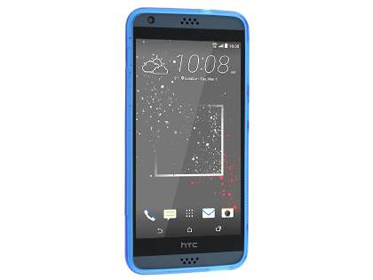 Wave Case for HTC Desire 530 - Frosted Blue/Blue