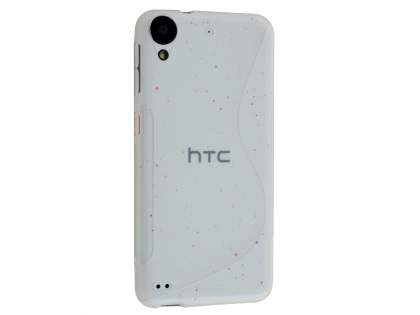 Wave Case for HTC Desire 530 - Frosted Clear/Clear Soft Cover