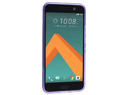 Wave Case for HTC 10 - Frosted Purple/Purple