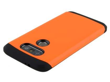 LG G5 Impact Case - Orange/Black