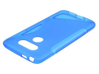LG G5 Wave Case - Frosted Blue/Blue