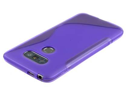 Wave Case for LG G5 - Frosted Purple/Purple