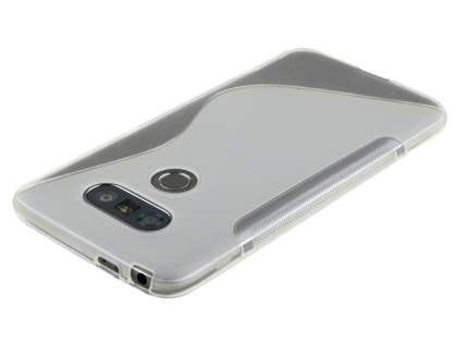 Wave Case for LG G5 - Frosted Clear/Clear