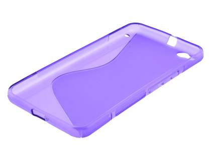 HTC One X9 Wave Case - Frosted Purple/Purple