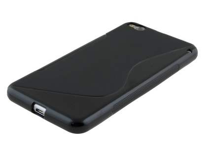 HTC One X9 Wave Case - Frosted Black/Black