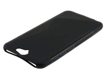 Wave Case for HTC Telstra Signature Premium - Frosted Black/Black