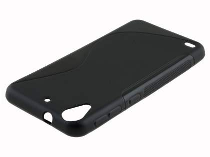 Wave Case for HTC Desire 530 - Frosted Black/Black