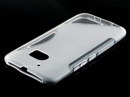 Wave Case for HTC 10 - Frosted Clear/Clear