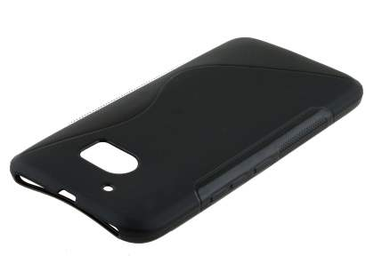 Wave Case for HTC 10 - Frosted Black/Black
